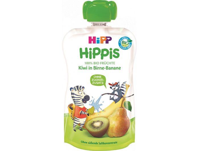 Dječja hrana, 100 ml, kruška i banana s kivijem, Hipp