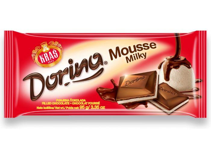 Kraš Dorina čokolada Mousse milky 95 g