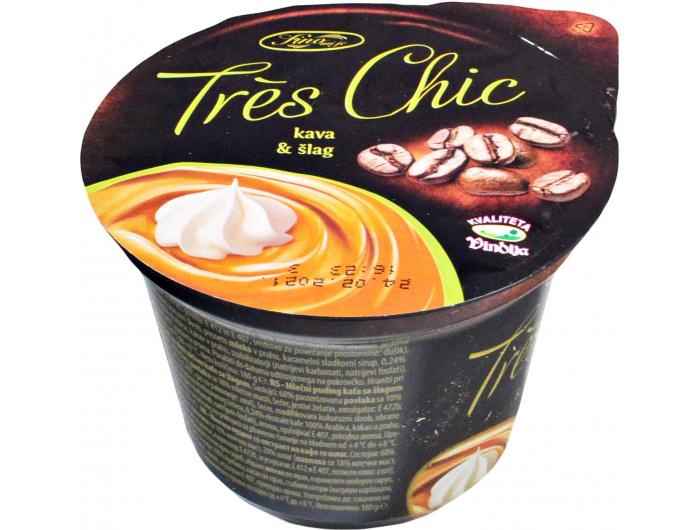 Vindija Tres chic puding kava i šlag 180 g