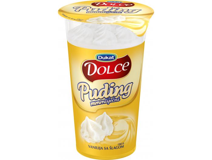 Dukat Dolce puding vanilija sa šlagom 170g