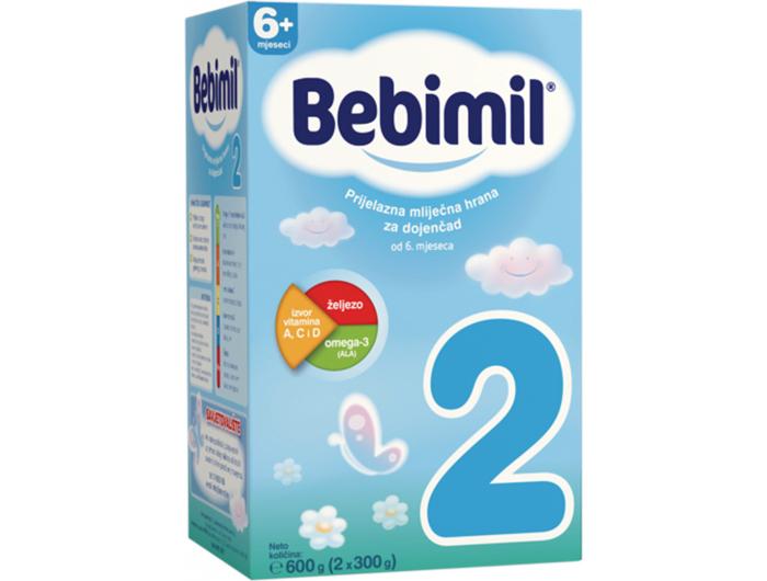 Bebimil 2 prijelazna mliječna hrana 600 g