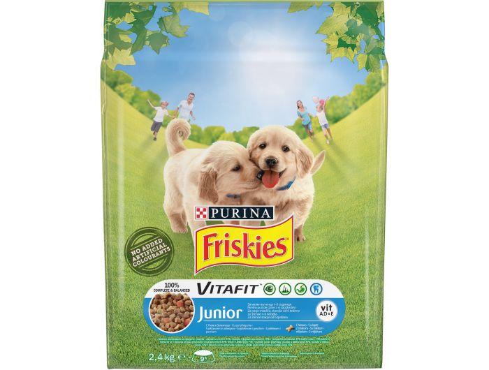 Friskies Vitafit Junior hrana za pse piletina i povrće 2,4 kg