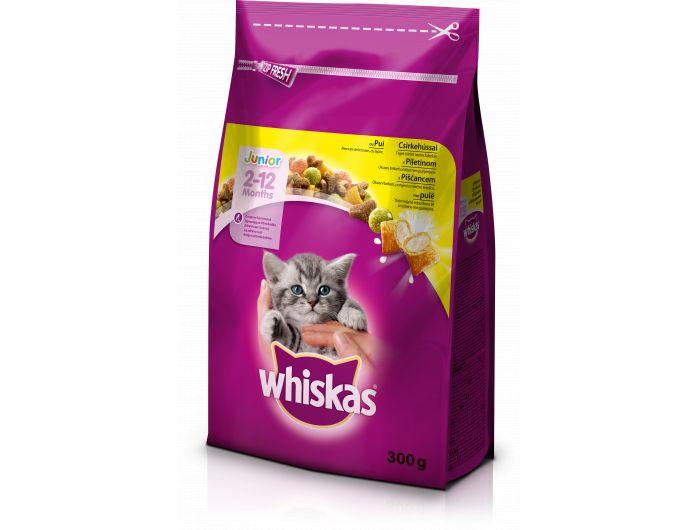 Whiskas suha hrana za mačiće piletina 300g
