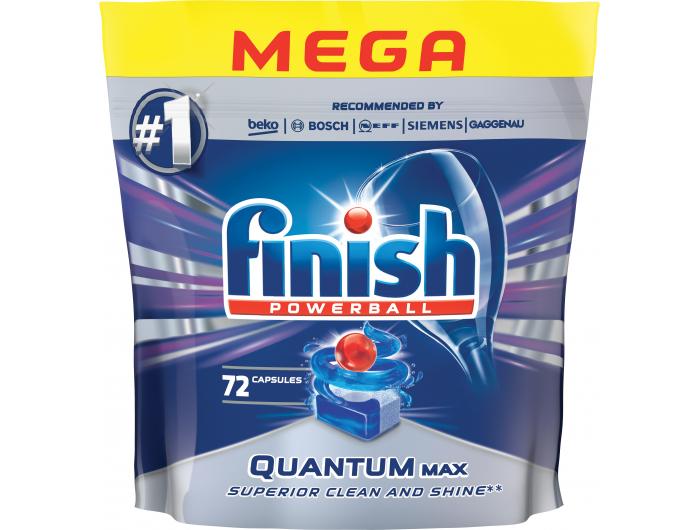 Finish deterdžent za strojno pranje posuđa Quantum max 72 kom