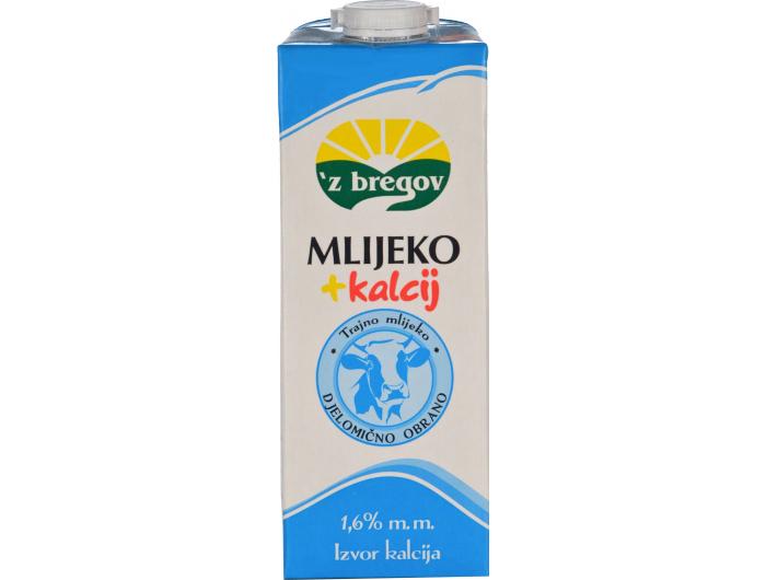 Vindija 'z bregov Trajno mlijeko s kalcijem 1 L