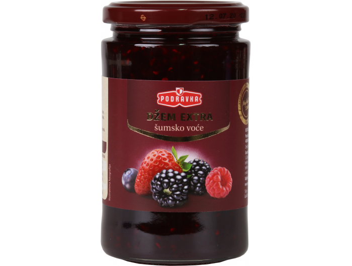 Podravka Džem Extra šumsko voće 430 g