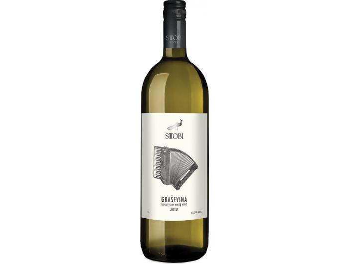 Stobi vino graševina 1 L