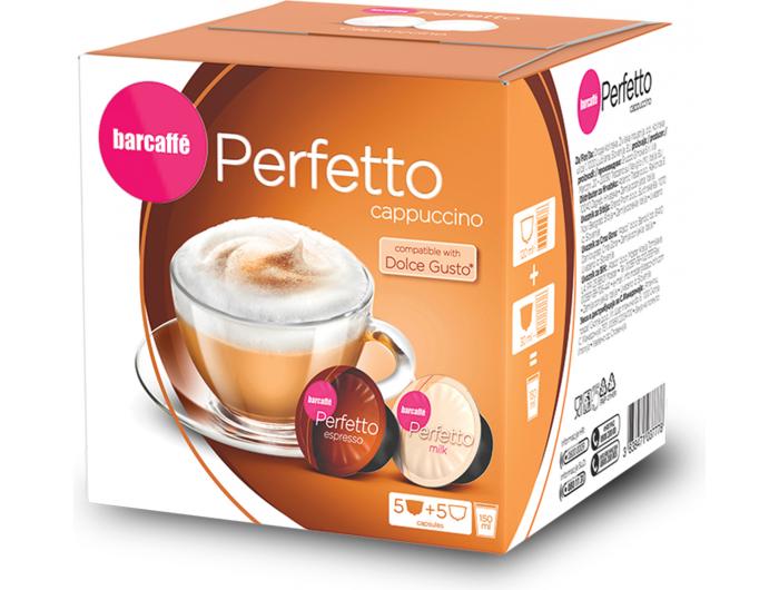 Barcaffe Perfetto Cappuccino kapsule 120 g