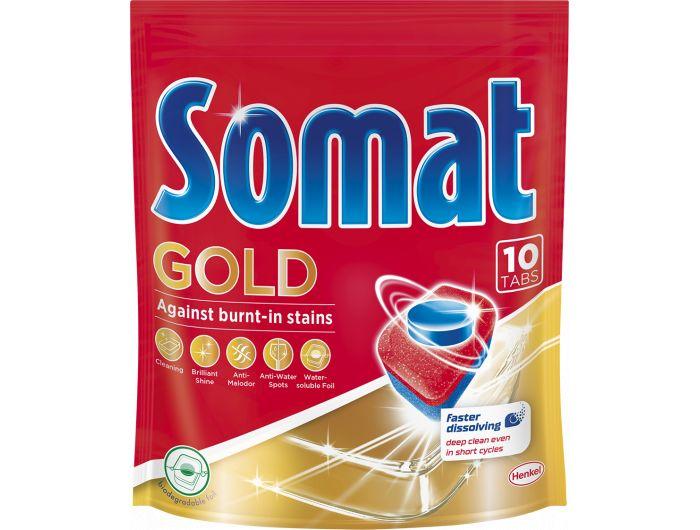 Somat deterdžent za strojno pranje posuđa  Gold 10 tableta