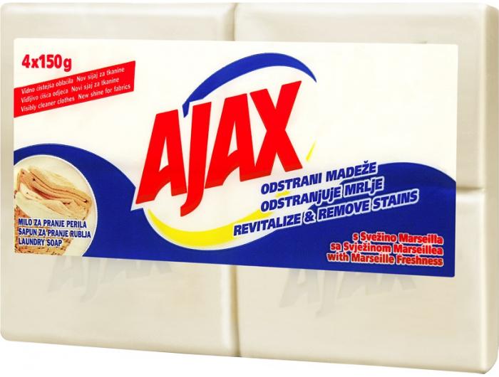 Ajax sapun za pranje rublja  4x150 g