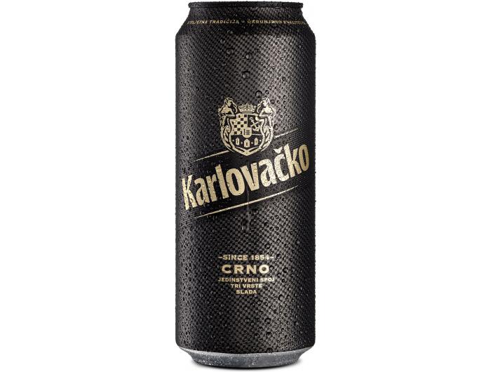 Karlovačko pivo crno 0,5 L