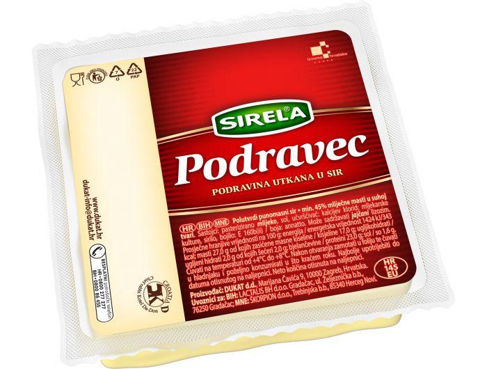 Dukat Sirela Podravec sir 400 g