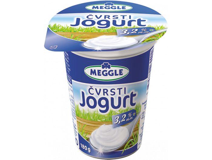 Meggle jogurt čvrsti 3,2% m.m. 180 g