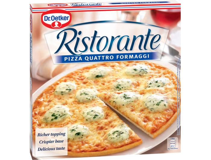 Dr. Oetker Pizza s četiri vrste sira 340 g