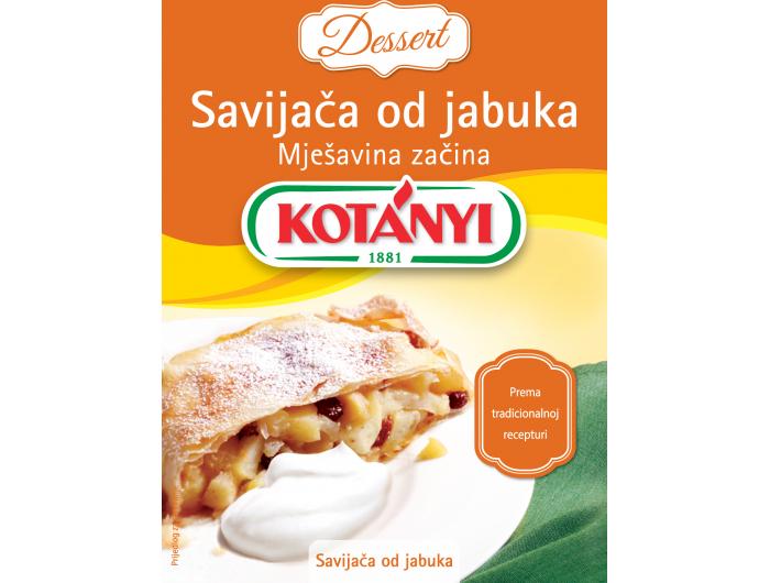 Kotanyi mješavina začina za savijaču od jabuka 26 g