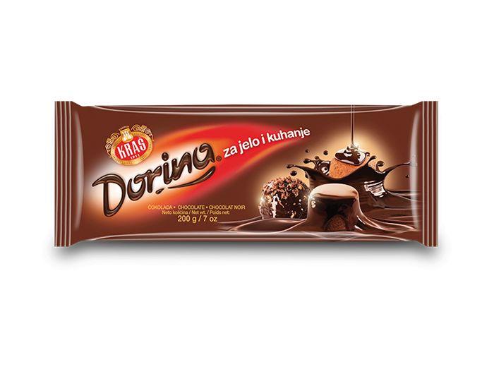 Kraš Dorina čokolada za jelo i kuhanje 200 g