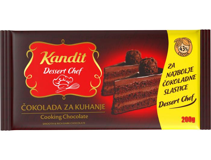 Kandit čokolada za kuhanje, 200 g