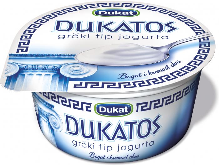 Dukat Dukatos jogurt natur 150 g