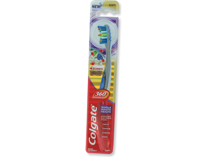 Colgate 360 Advanced Soft zubna četkica meka 1 kom