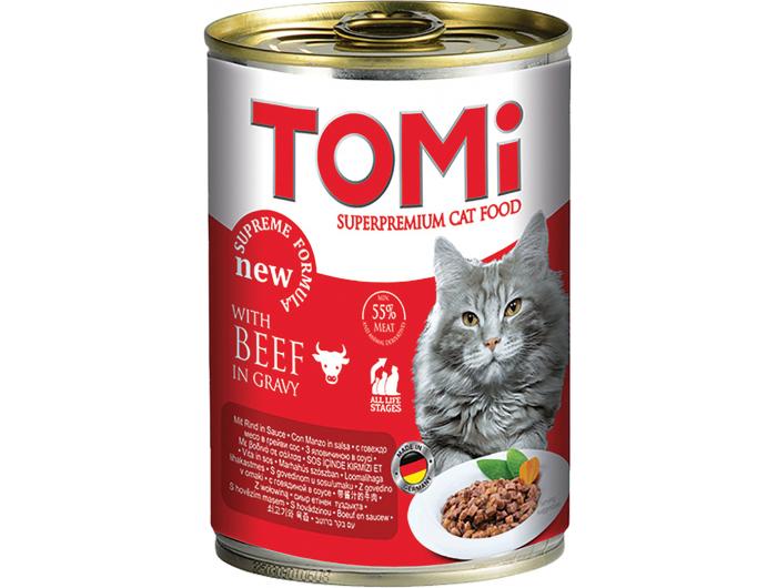 Tomi hrana za mačke govedina 100 g