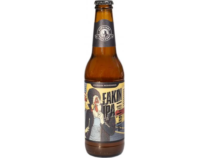 Pivovara Medvedgrad Fakin IPA svijetlo pivo 0,33 l