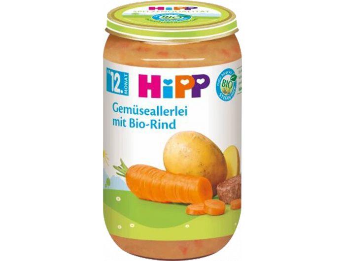 Dječja hrana, 250 g, mrkva/krumpir/govedina, Hipp