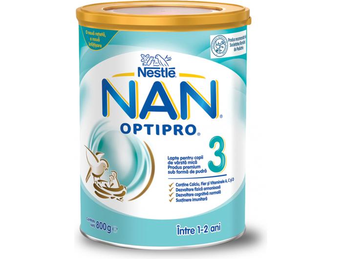 Nestlé Nan Optipro 3 zamjensko mlijeko 800 g