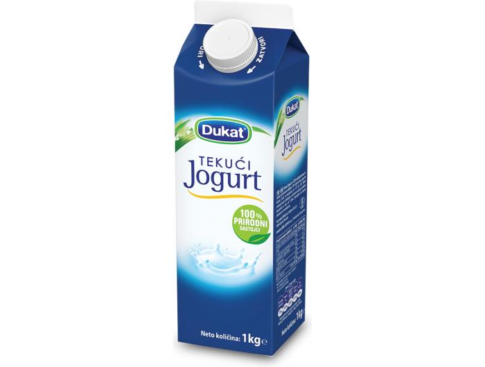 Dukat jogurt tekući 2,8 % m.m. 1 kg