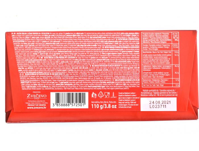 Mikado keks- nougat čokolada 110 g