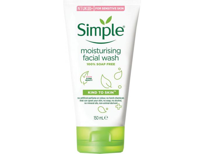 Simple hidratantni gel za čišćenje lica 150 ml