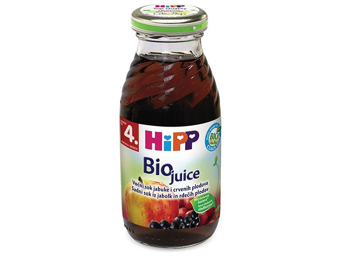 Sok, 200 ml, crveni plodovi, Hipp