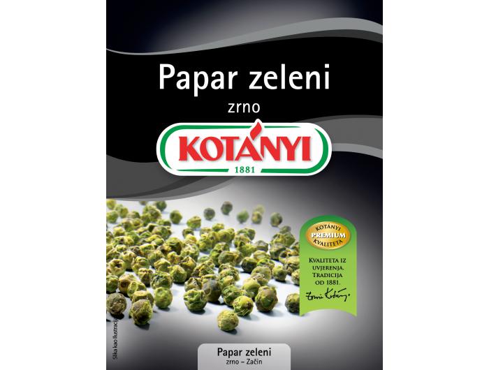 Kotanyi zeleni papar u zrnu 12 g