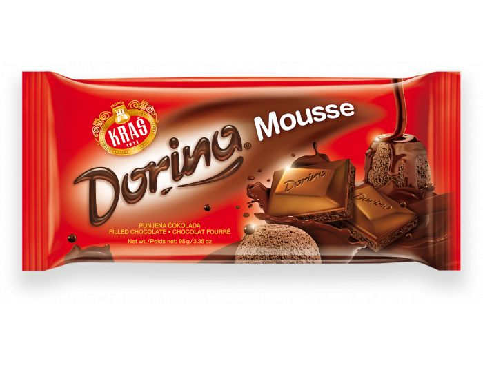 Kraš Dorina Mousse čokolada 95 g