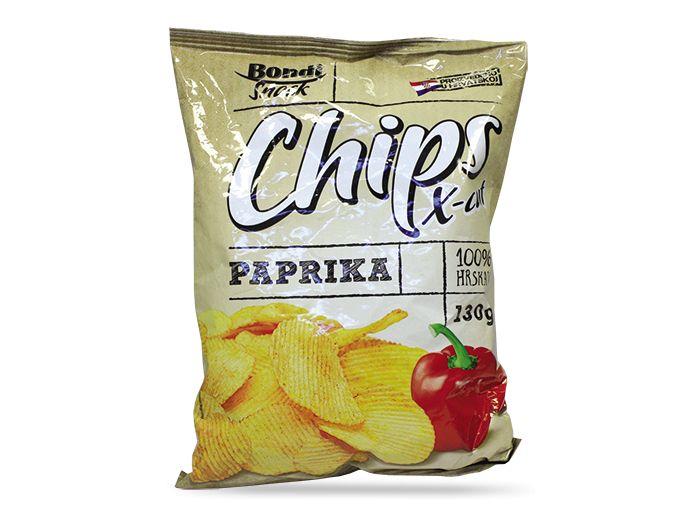 Bondi X-CUT čips paprika 130 g