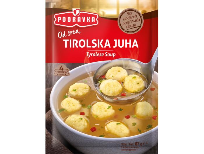 Podravka Tirolska instant juha 67 g