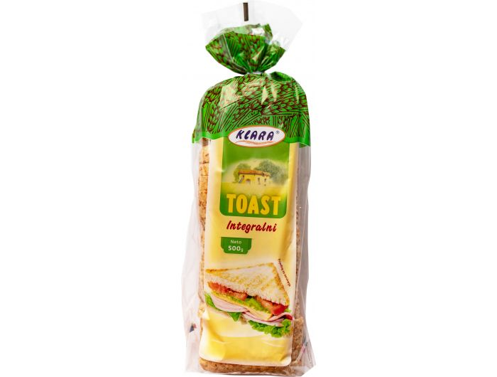 Klara Tost s integralnim brašnom 500 g