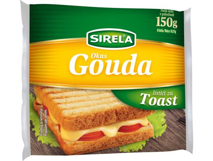 Dukat Sirela Gouda sir topljeni 150 g
