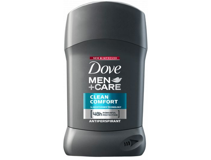 Dove men Dezodorans u sticku clean Comfor 40 ml