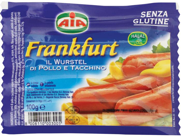 Frankfurt hrenovke 100 g