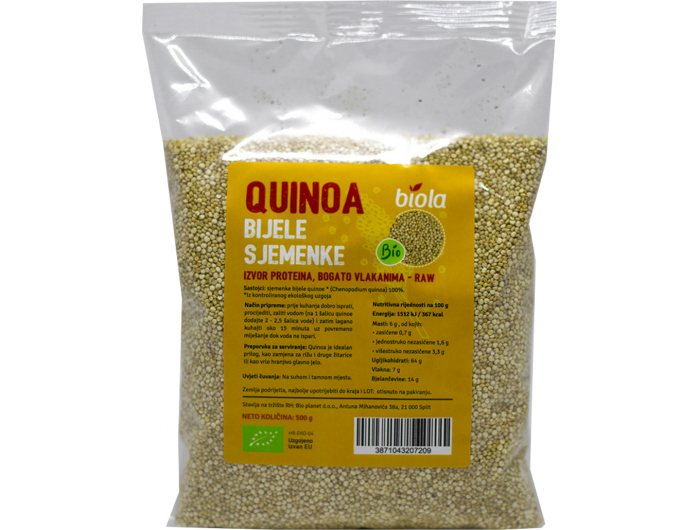 Biola BIO bijela quinoa 500 g