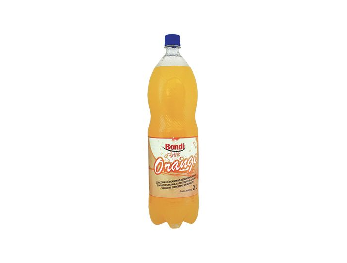 Gazirano piće, 2 L, naranča, Bondi