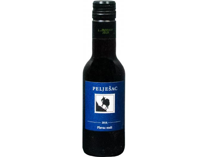 Badel Pelješac Plavac mali kvalitetno crno vino 0,187 L