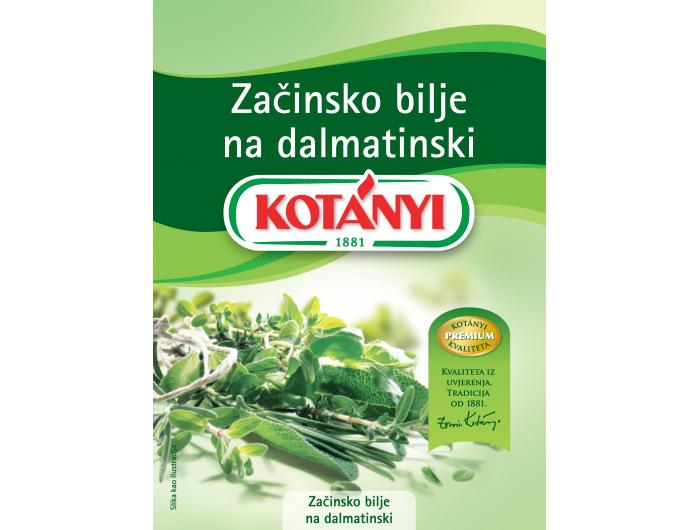 Kotanyi dalmatinsko začinsko bilje 17 g