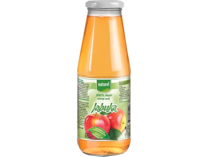 Naturel sok od 100% jabuke 0,72 L