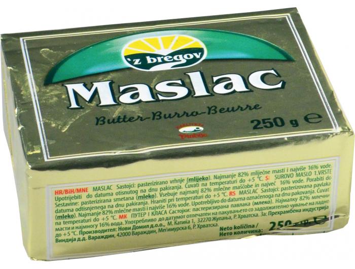 Vindija 'z bregov maslac 250 g