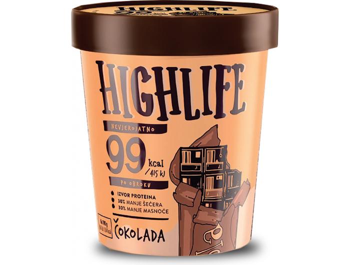 Ledo Highlife sladoled čokolada 460 ml