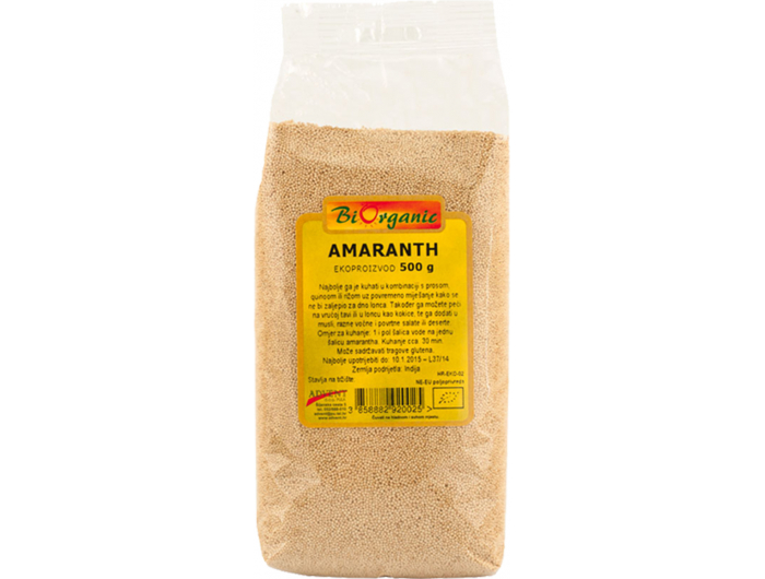BiOrganic BIO amaranth 500 g