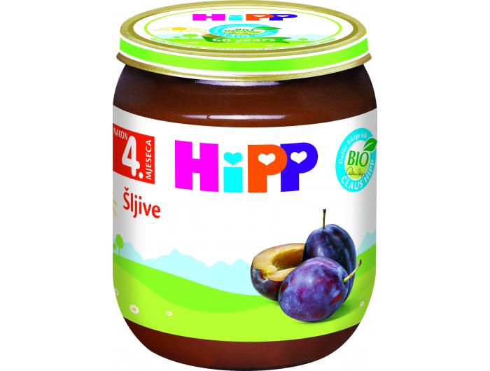HiPP Dječja kašica šljive 125 g