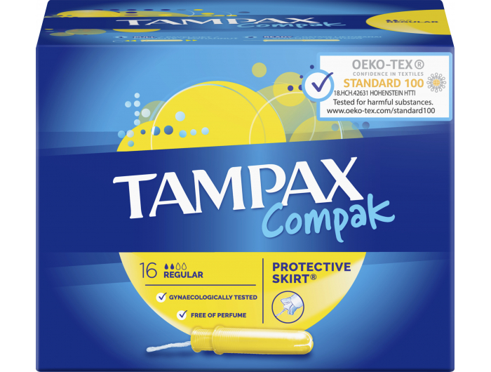 Tampax Compak higijenski tamponi 16 komada