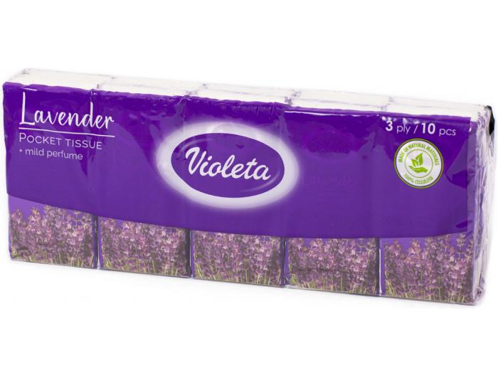 Teta Violeta maramice lavanda 10 kom